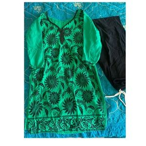 Dresses - Indian suit kurti and pant (legging) style